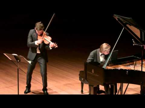 Schubert Fantasy in C major for Violin and Piano - Benjamin Beilman and Juho Pohjonen