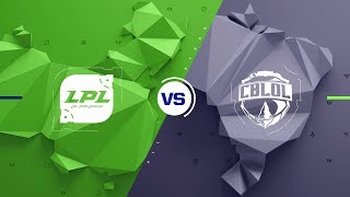 CN vs. BR - All Stars Group Stage Match Highlights (2017)