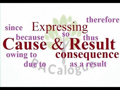 Grammar: Cause & Result