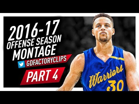 Stephen Curry Offense Highlights Montage 2016/2017 (Part 4) - EPIC THREES, CRAZY HANDLES!