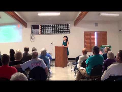 Unhealthy Food List: Kristen Harper speaks to the Community of Meadview