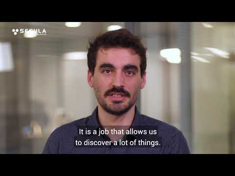 Engineer's Words - Corentin, Augmented reality Project manager