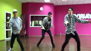 Diggy Simmons, Dj Spinking & Dima Petrovich - Dance Centre Myway Slow Tutorial