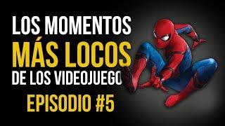 Los MOMENTOS MÁS LOCOS de los VIDEOJUEGOS #5