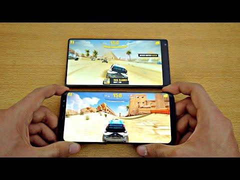 Samsung Galaxy S8 Plus vs Xiaomi MI MIX - Gaming Comparison! (4K)