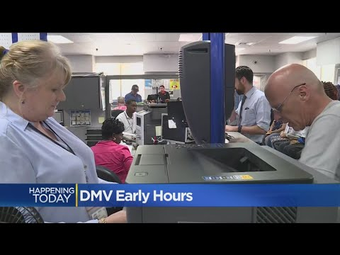 Some DMV Offices Start Opening Early Ease Lines