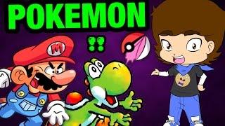 Is Yoshi SECRETLY A Pokemon? (Super Mario Bros. Theory) - ConnerTheWaffle