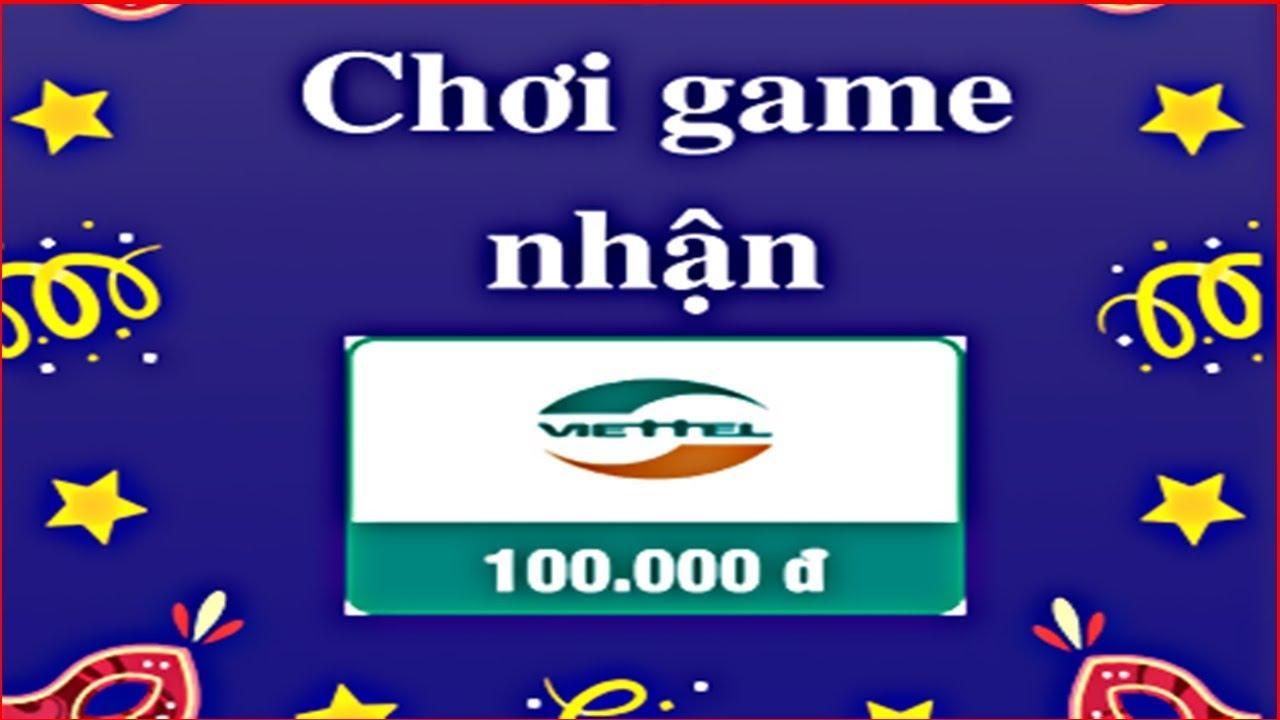 Chơi Game Nhận Thẻ Cào Miễn Phí Mỗi Ngày | Kiếm Thẻ Cào