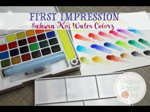 Original Buncho Water Color 12 Colours 18 Colours Colour 6cc 612
