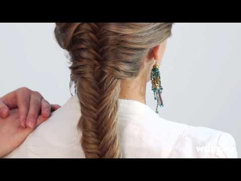 Плетение кос, виды плетения волос из прядей