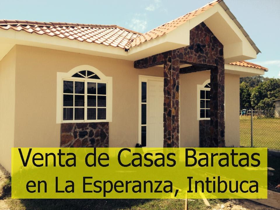 Venta de lindas casas baratas en la esperanza intibuca for Casetas economicas