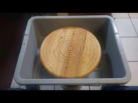 Jesse Garcia: Home Made Pottery Wheel.