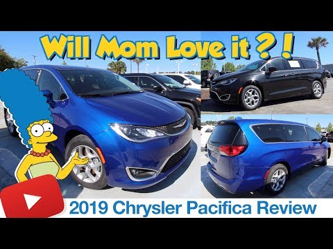 🔵 New 2019 Chrysler Pacifica Touring In Depth Review ( Will It Be the Cool Family Minivan ? )