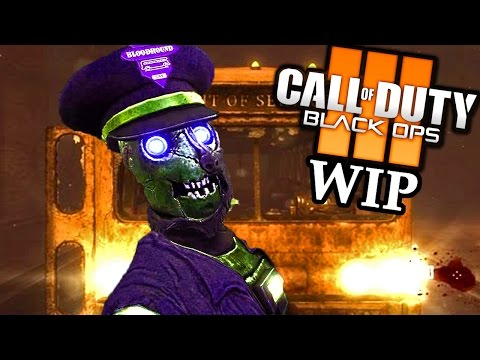 TRANZIT REMASTERED COMING TO BO3 ZOMBIES! Early WIP Call of Duty Black Ops 3 Mod Gameplay