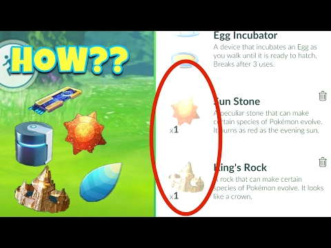 EASIEST WAY TO GET SPECIAL ITEMS IN POKEMON GO