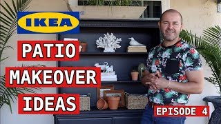 Easy Patio Makeover Ideas  / Three Patio Looks on a budget (Ikea Inspired )