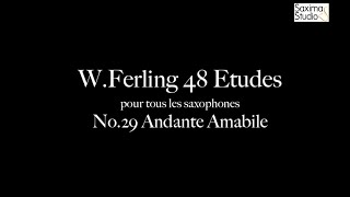 〈 Etude No.29 〉from W.Ferling 48 ETUDES – Play Along