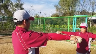 20191009 야민우와 박진 선수의 어깨 보강 운동