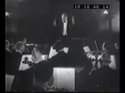 Bruno Walter - Mozart: Symphony No. 40 - Finale - Berlin Philharmonic