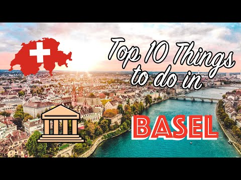 BASEL SWITZERLAND: Top 10 Things to Do | Tourist attractions + Tour of the City | Museums, Rhine +