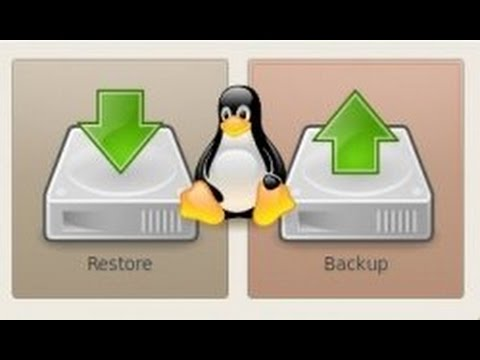 Linux Tip | Create and Restore Backups