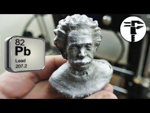Модели из МЕТАЛЛА с 3D Принтером
