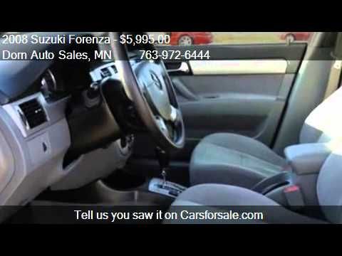 2008 suzuki forenza convenience pkg for sale in delano mn. Black Bedroom Furniture Sets. Home Design Ideas