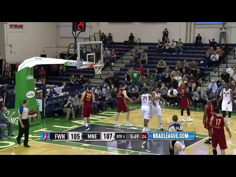 Jordan Mickey posts 22 points & 14 rebounds vs. the Mad Ants