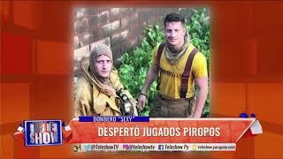 """Sebastián Rodríguez a """"punto de ebullición"""" en Tv tras dar 'me gusta' a bombero sexy"""