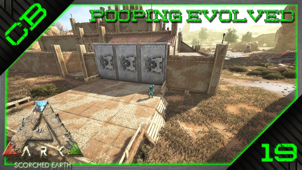 Ark scorched earth base vaults crafting area layout for Crafting and building 2