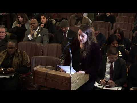 2018.1.18   NYC Board of Correction General Public Meeting