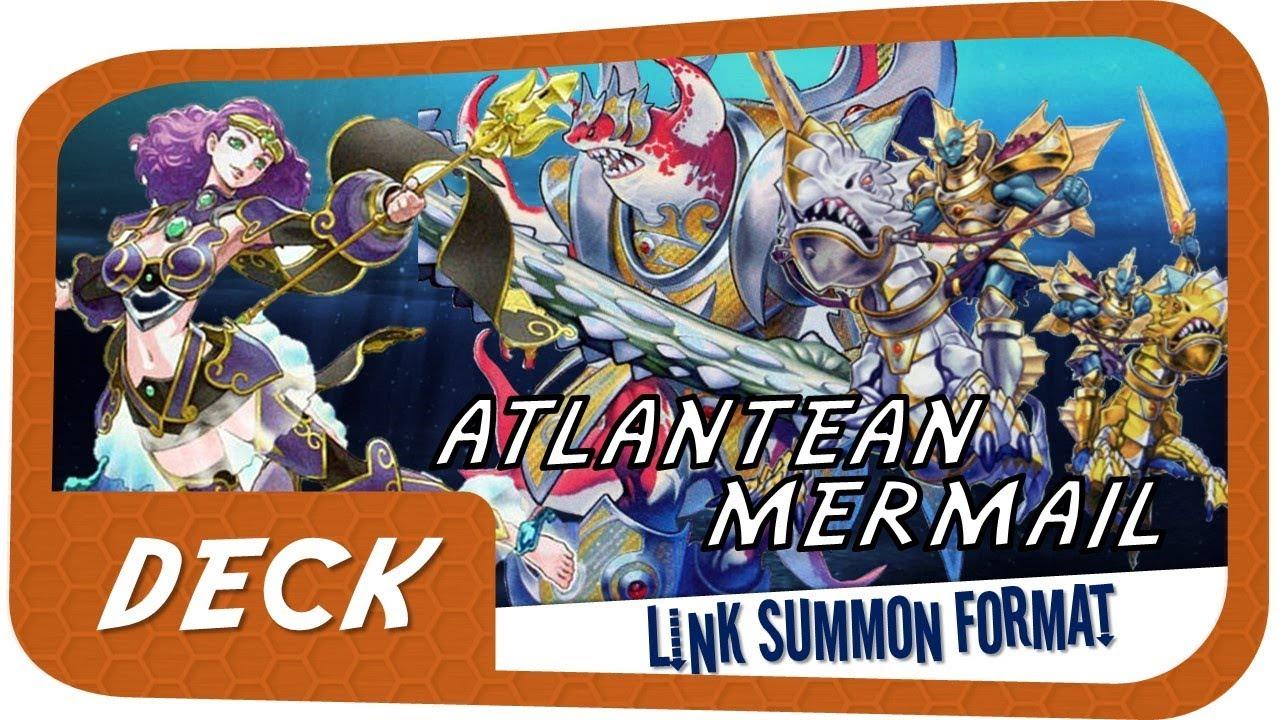 Atlantean Mermail Deck Link Format 2017 - Yu-Gi-Oh! News and