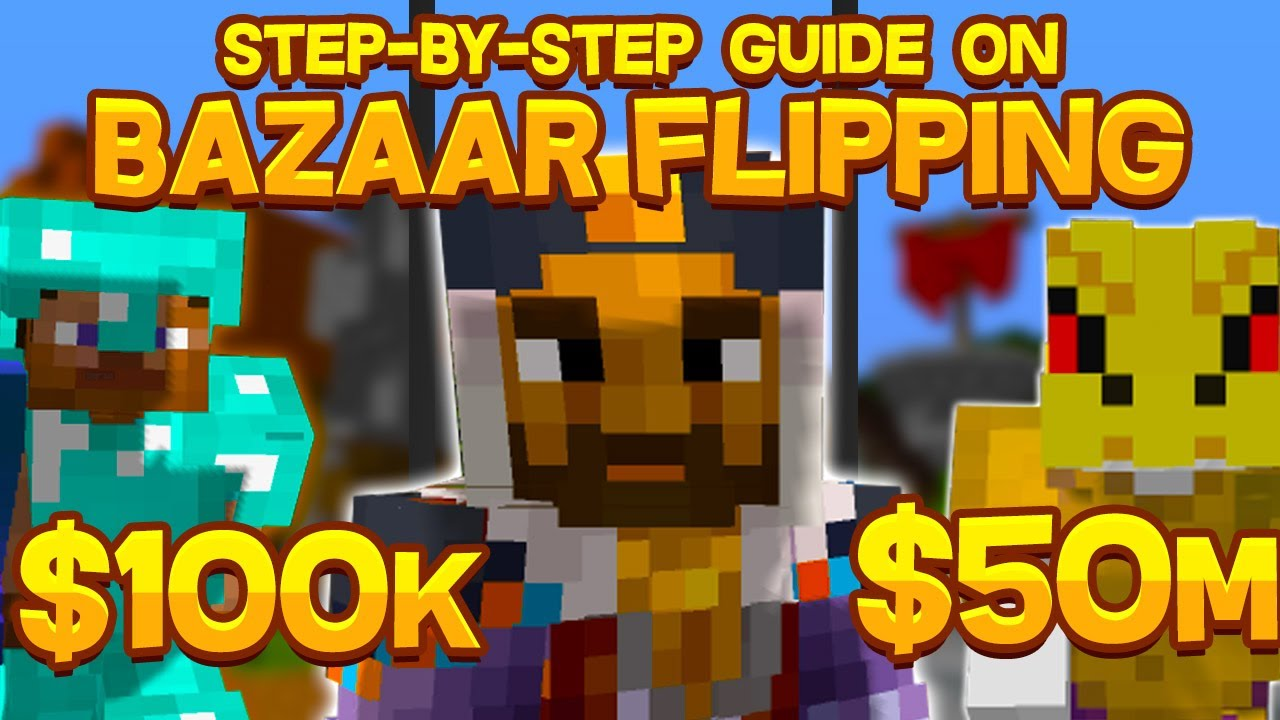 Step-by-Step GUIDE on how to use the BAZAAR EFFECTIVELY (Hypixel Skyblock)