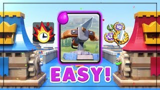BEST XBOW LADDER DECK?! Top 100 Global Push - Clash Royale