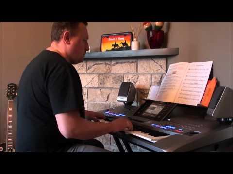 The end of the world - Skeeter Davis on Yamaha keyboard Tyros 5