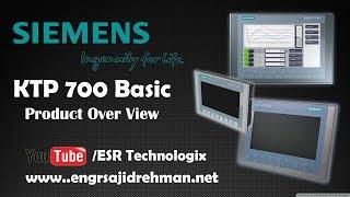 SIEMENS SIMATIC KTP 700 Basic HMI Overview | TIA Portal | EKB Install