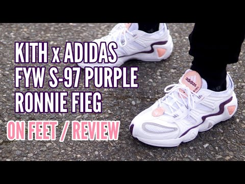 KITH x ADIDAS FYW S-97 Pink Purple - ON FEET / REVIEW