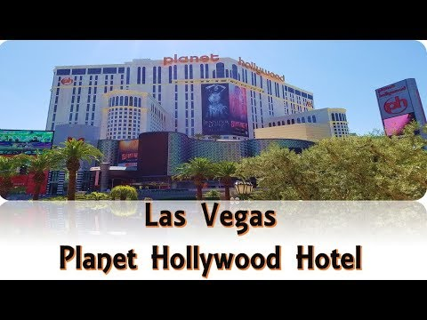 Walking through Planet Hollywood Hotel and Casino..July,2017