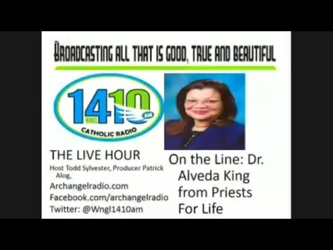 1-19-16 Live Hour Archangel Radio with Dr. Alveda King, Trey Krause and Dr. Theresa Burke