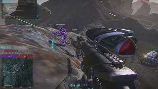 Planetside 2 Gameplay - Hunters Will Be Hunted (Quickie)