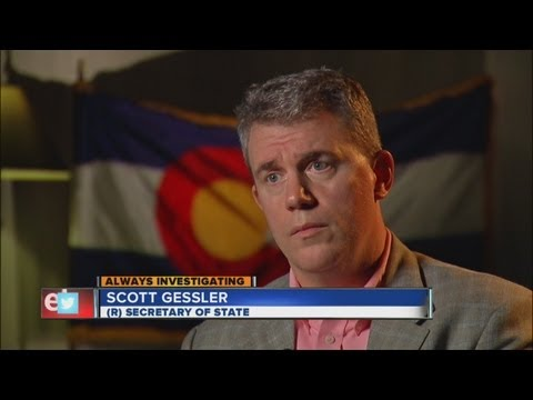 Colorado Secretary of State discusses discretionary fund