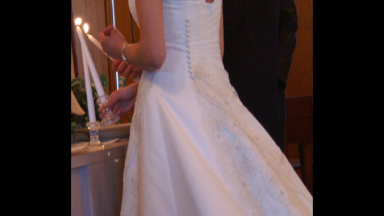 Avoid Wedding Gown Alterations Rip Off! Simple DIY Bustle ...