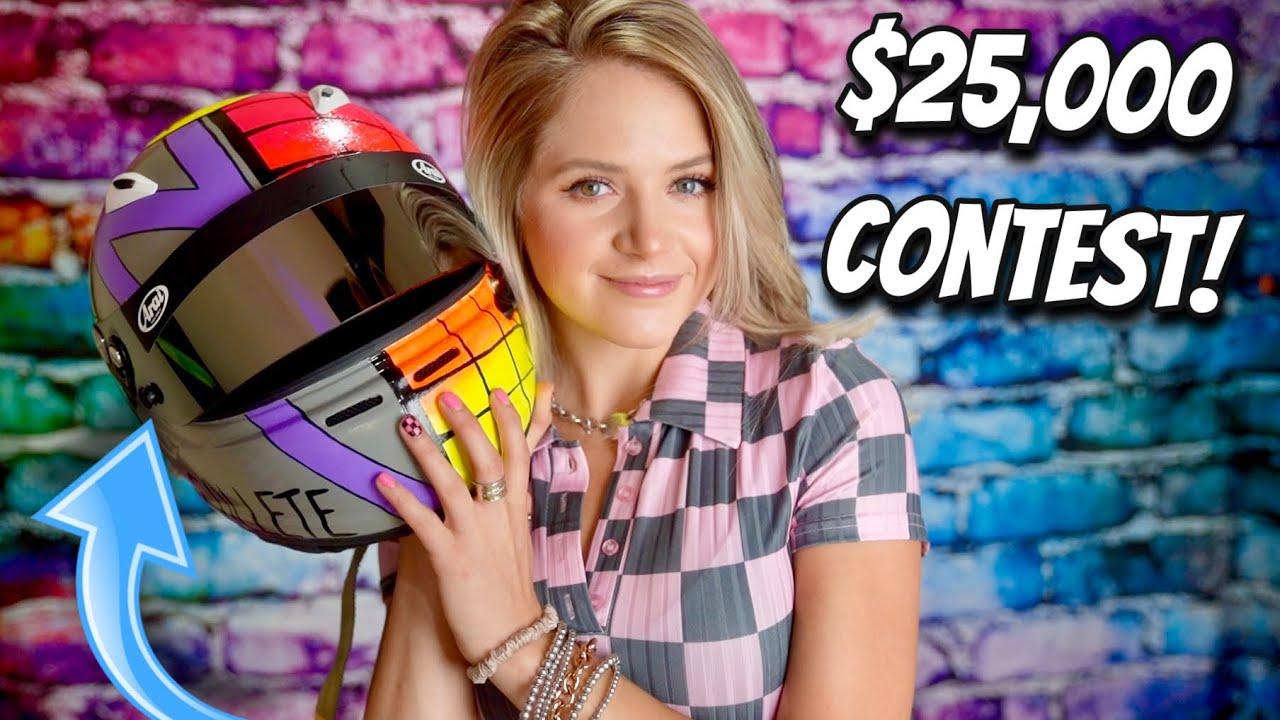 How to Paint Your Helmet + HUGE Contest Announcement!