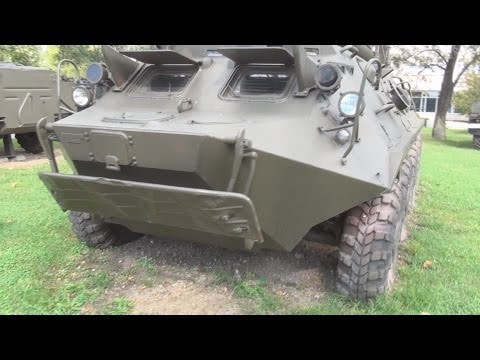 BTR-60 P wth P-145 Chayka Armoured Carrier (1963) Exterior in 3D 4K UHD