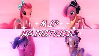 ТОП 5 ПРИЧЁСОК ДЛЯ ПОНИ My Little Pony Hairstyles