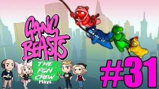 The FGN Crew Plays: Gang Beasts #31 - Subway Smackdown