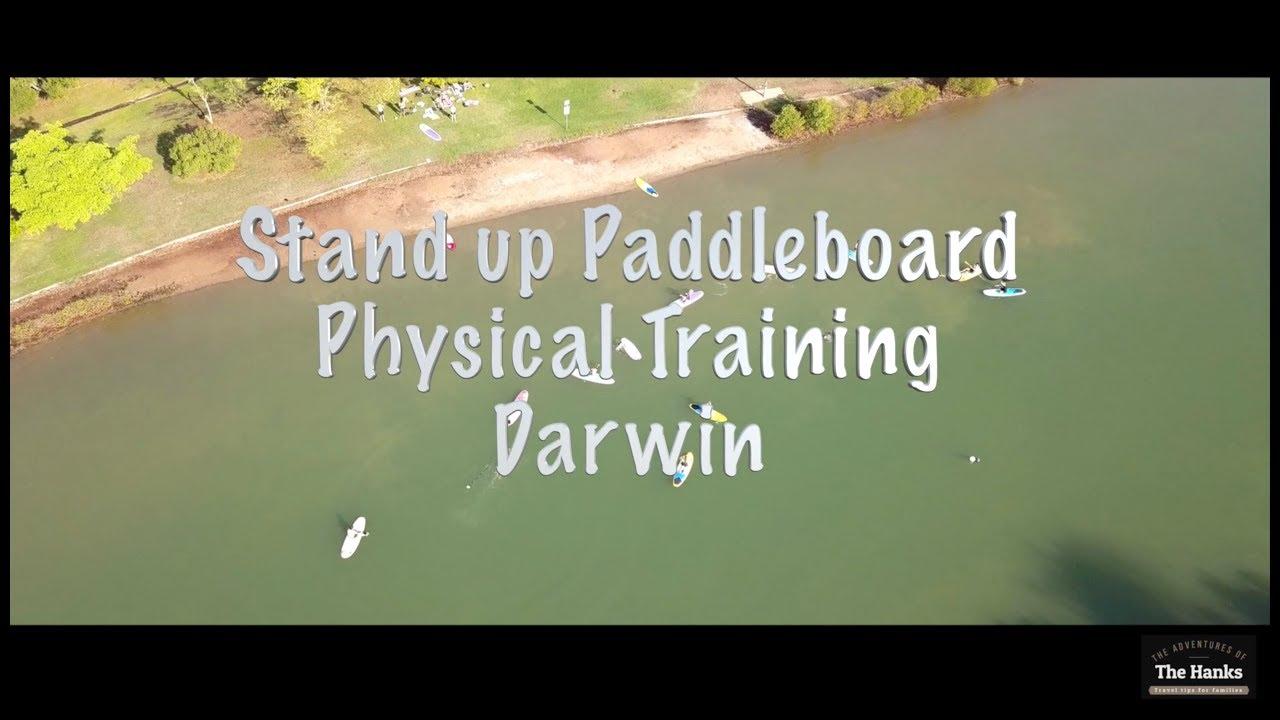 Paddle boarding darwin