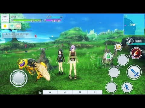 UPDATE!!    Sword Art Online: Integral Factor android / IOS Open Server and download part 2