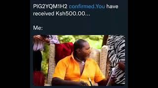 Kiburi mtu hukuwa nayo mshahara ikitoka 😂😂😂😂😂😂😂😂😂😂😂