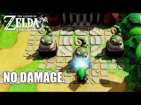 No Damage Dungeon Run The Legend Of Zelda Link S